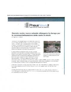PneusNews – 20.05.15