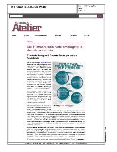 Officina Atelier.com – 13.10.2015