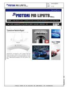Motori No limits.com 14.10.2015